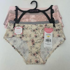 Sophie B. Invisible Edge Hipster Panties B…